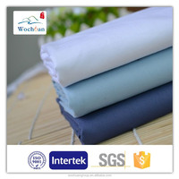 TC 65/35 45*45 133*72 dyed plain uniform poplin factory cheap shirt fabric shirting fabric