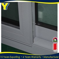China supplier AS2047 Australian energy saving small sliding windows with double glass