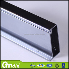 high quality aluminum window frames industrial aluminum frame glass door for Philippines