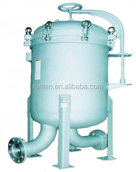 water treatment plant bag filter with filter bag for power plant bag filter