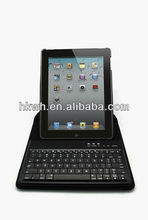 Silicon Wireless Bluetooth Leather Case Keyboard for iPad 2,3,4