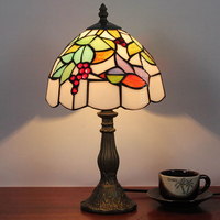 Hot sale tiffany modern style with vintage stained glass table lamps for wholesale or decor the dinning room