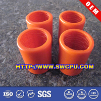 Custom plastic pins and bushings for excavator