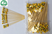 High quality Eco-friendly Bamboo stick with bead