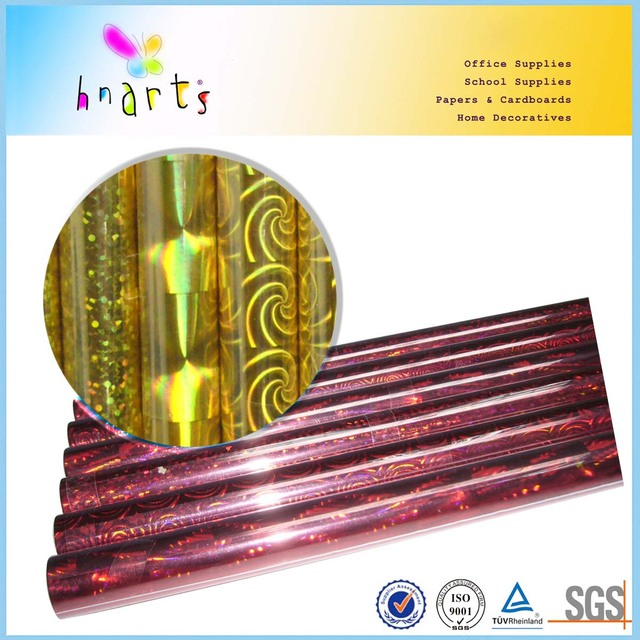 glass fragment pattern self adhesive holographic film,laser film,holographic film paper