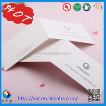 High quality folded garment paper tag wholesale