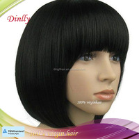 High feedback most popular human short bob hair for lace front wig