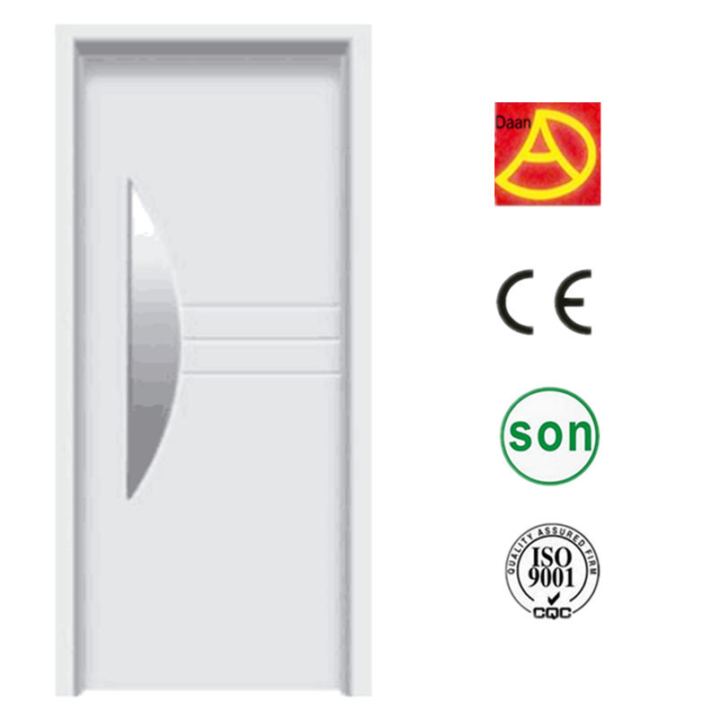 China supplier new design nice quality pvc industrial interior door for construction project