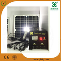 20W solar lighting kits with 4 pcs led lamp/mini portable solar home system for indoor&outdoor use