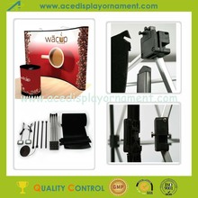 Foldable Aluminium Spring Pop Up Stand