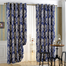 Block Sunlight and Ultraviolet Grommet Thermal Insulated Home Decorated Window Curtain