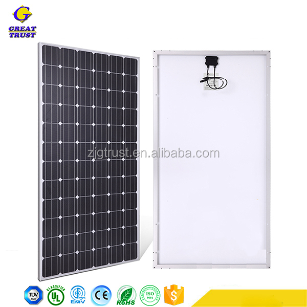 Professional solar power panel solar panel support structures junction box for solar panel