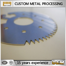 factory high quality metal parts laser cutting service