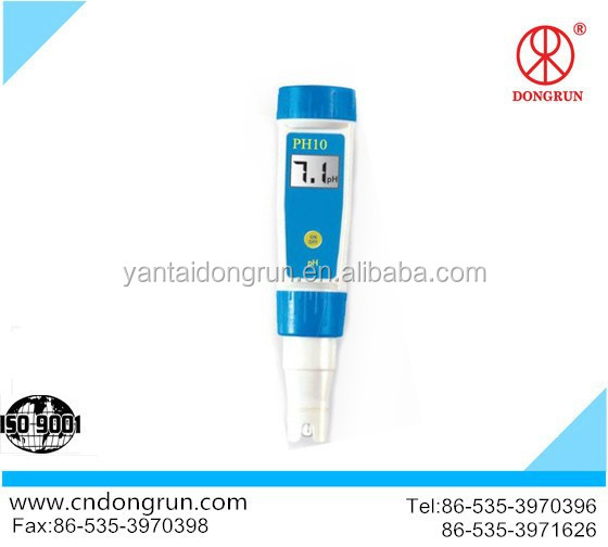 PH10 pen type liquid digital ph meter