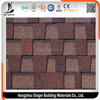 Hotsale San-gobuild best quality Difficult to be burned Shingle