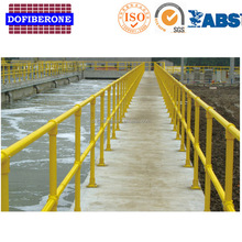 2017 New Hot FRP Fiber Glass Stair Handrail Joint For Outdoor Steps