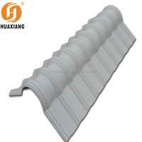 Yantai best price decorative curved building materials lightweight kerala ceramic roof tile