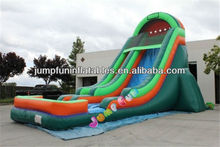 2013 commercial big Inflatable pool water slide
