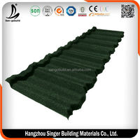 Kenya Classical 7 waves Design Stone Coated Roofing Tile With Cheaper Price