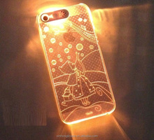factory wholesale LED phone cases for iphone5 for iphone6 factory case