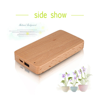 8000 Mah Custom Wood Power Bank