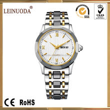 Automatic watch stainless steel swiss movement/sapphire glass/men