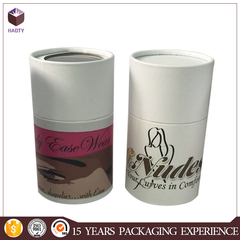 Round hat cosmetic packaging cardboard tubes
