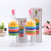 High quality fashion multifunction fruit tool egg slicer bin 8 kitchen tool like bottle