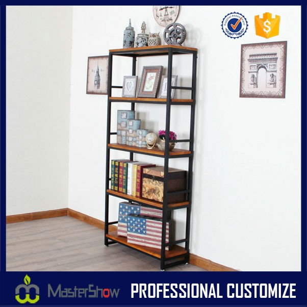 New style classic metal and wood display stand for home