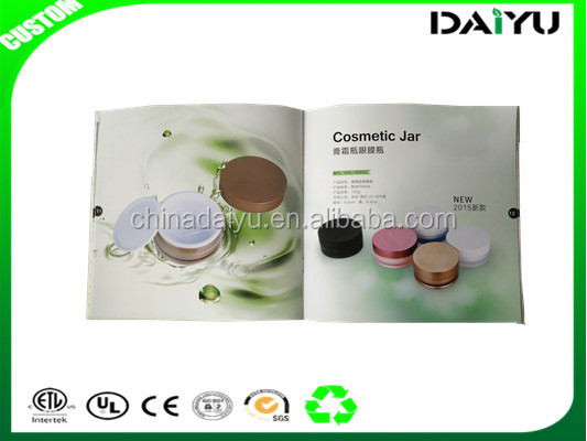 2016 hot sale brochure/booklet/catalogue/magazine cosmetic printing services