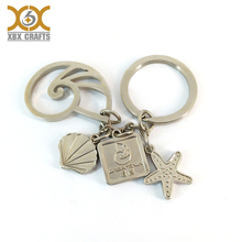 souvenir custom beautiful purse hanging key chain with logo