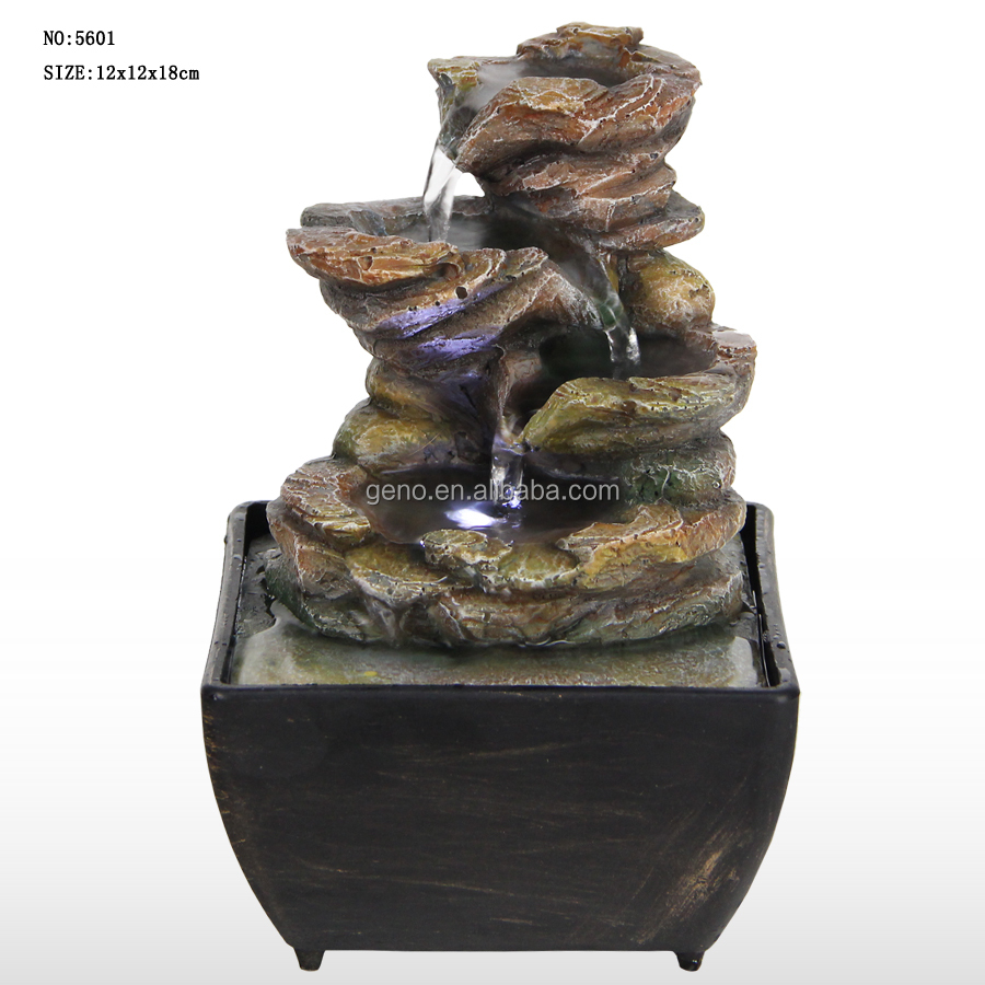 houshold decor table water fountain