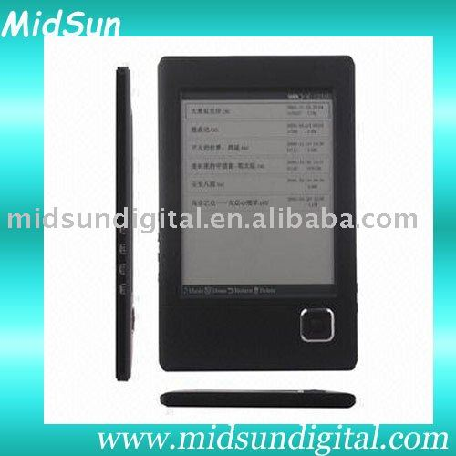 7 inch color screen ebook reader with WIFI FM function and 3G optional