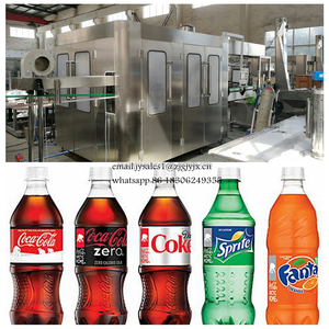 Good Quality full automatic carbonated soft / soda drink filling machine/production line with low priceLine