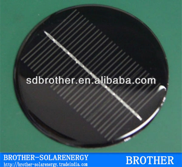 1.2 Watt Round Solar Panel Round Shape according to your required