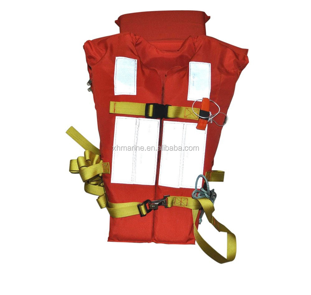 CCS & EC EPE Foamed Polyethylene Orange Life Jacket
