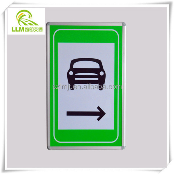 OEM LED photoelectric traffic emergency signs for tunnel