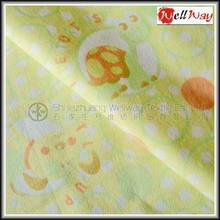 China Manufacturer Wholesale Animal Print Baby Flannel Fabric for Blanket
