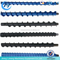 Spiral drill pipes / twist drill rod for coal mining / Core Drill Rod