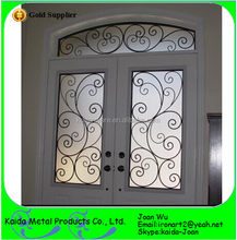 Beautiful Wrought Iron Interior Door Inserts For Glass Door