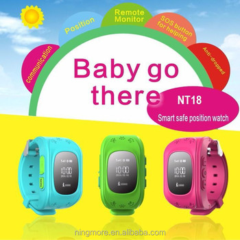 new wrist watch gps tracking device for kids NT18