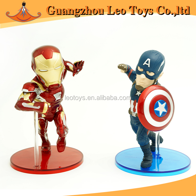 Movie Cartoon Hot Toys Marvel Super Hero Anime Action PVC Figures