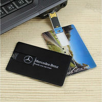 Hot ! Water Proof Plastic Visit Card Usb 4gb With Custom Logo