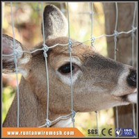 fixed knot, stay lock, tight lock mesh deer fence