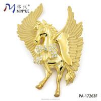 rhinestone horse brooch wholesale from China