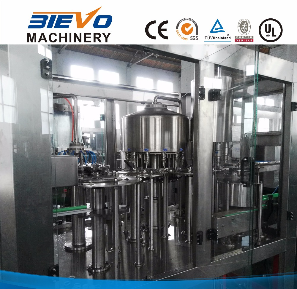 ISO hot sale monobloc automatic 3 in 1 PET bottle water filling machine and mineral water filling machine