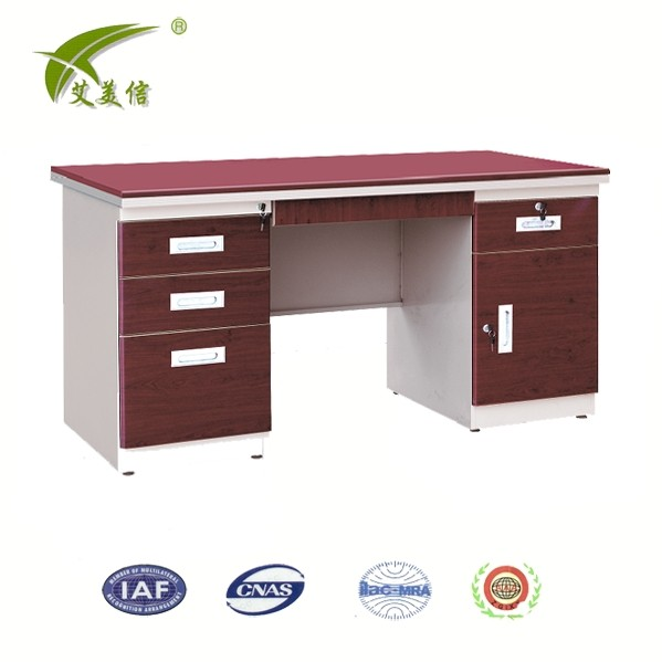 godrej steel boss table/classical steel office desk