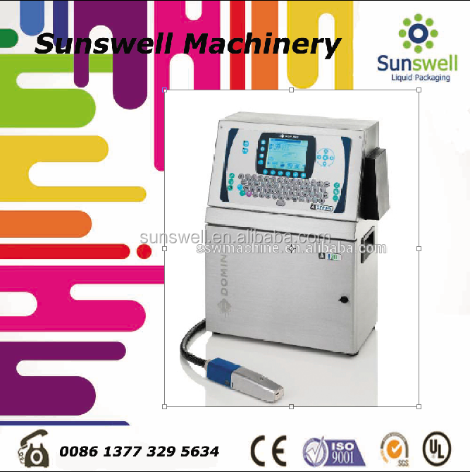 Industrial Time/Date/Character Inkjet Printer/Coding/Printing Machine For Bottle/ Cable / Egg