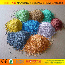 Virgin / Recycled /Colorful/ EPDM rubber granule / EPDM raw material/EPDM price FL-V-160707