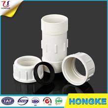 White ANSI Standard Socket High Quality PVC Comperssion Coupling